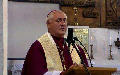 Bíró László püspök atya köszöntője a Házasság Hetére a Családok Évében