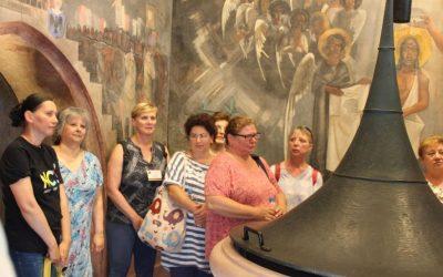 Egészségügyi dolgozók a Szegedi Dóm és Látogatóközpontban
